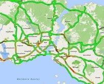 İstanbul trafiğinde Ramazan etkisi