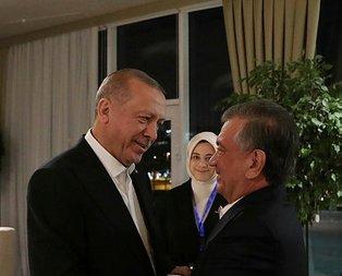 Başkan Erdoğan'ın Azerbaycan'da temasları sürüyor