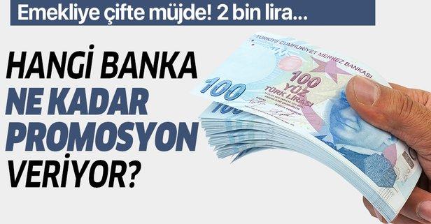 Çifte müjde! Hangi banka kaç TL nakit veriyor?