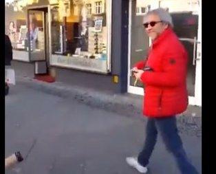 Berlin'deki gurbetçi vatandaştan Can Dündar'a sert tepki!