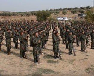 YPG/PKKnın ABD destekli terör kampı