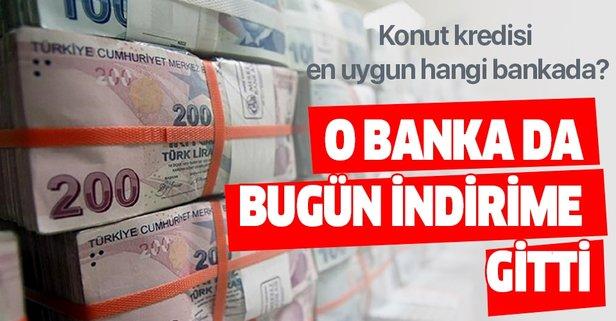 21 Kasım konut kredisi en uygun hangi bankada?