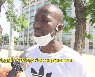 Türkiye'deki siyahilerden George Floyd'un ölümü sonrası A Haber'e özel açıklamalar: Türkler Afrikalılar için bir aile