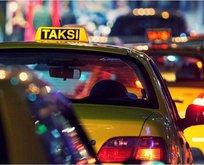 Taksi ücreti çalıntı laptop