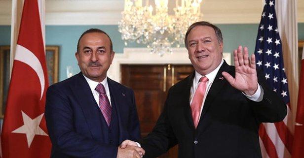 Dışişleri Bakanı ABD'li mevkidaşı ile görüştü