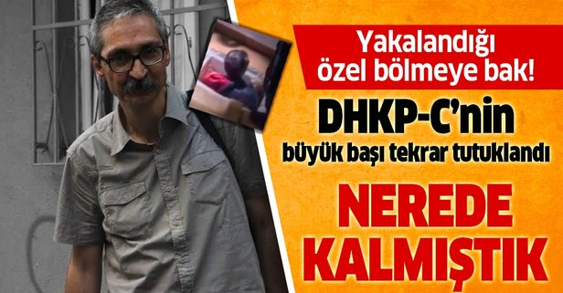 DHKP-C'li teröristler tekrar tutuklandı