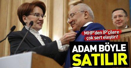 MHP'den Burhanettin Kocamaz'ı aday göstermeyen İyi Parti'ye sert eleştiri