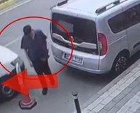 Üsküdar'da inanılmaz görüntü! Kıl payı kurtuldu…