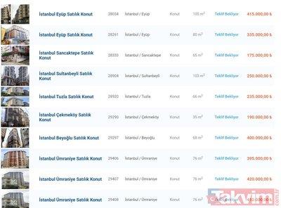 Bankalardan sudan ucuz icralık konutlar! Hepsi yarı fiyatına! Ev ilanları: Ziraat, Halkbank, Garanti, Vakıfbank...