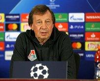 Lokomotiv Moskova teknik direktöründen açıklamalar