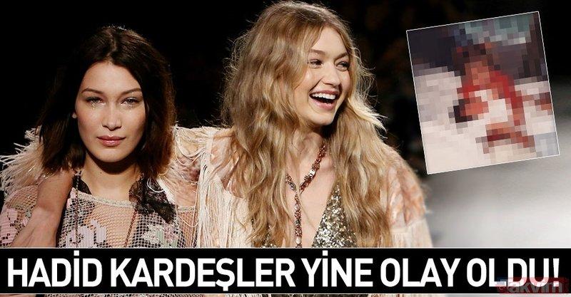 Hadid kardeşler yine olay oldu! İşte herkesin konuştuğu Bella Hadid ile Gigi Hadid'in o fotoğrafı...