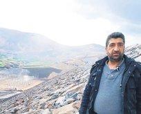 Baraj inşaatında korkunç ölüm