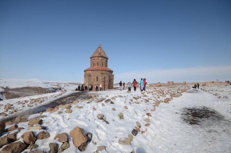 Medeniyetler Beşiği Aniye turist akını