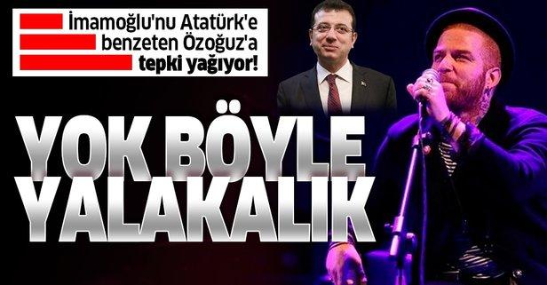 İmamoğlu'nu Atatürk'e benzeten Özoğuz'a sert eleştiri!