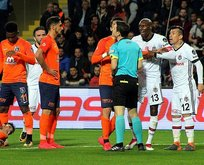 Beşiktaşta iki yıldız cezalı duruma düştü