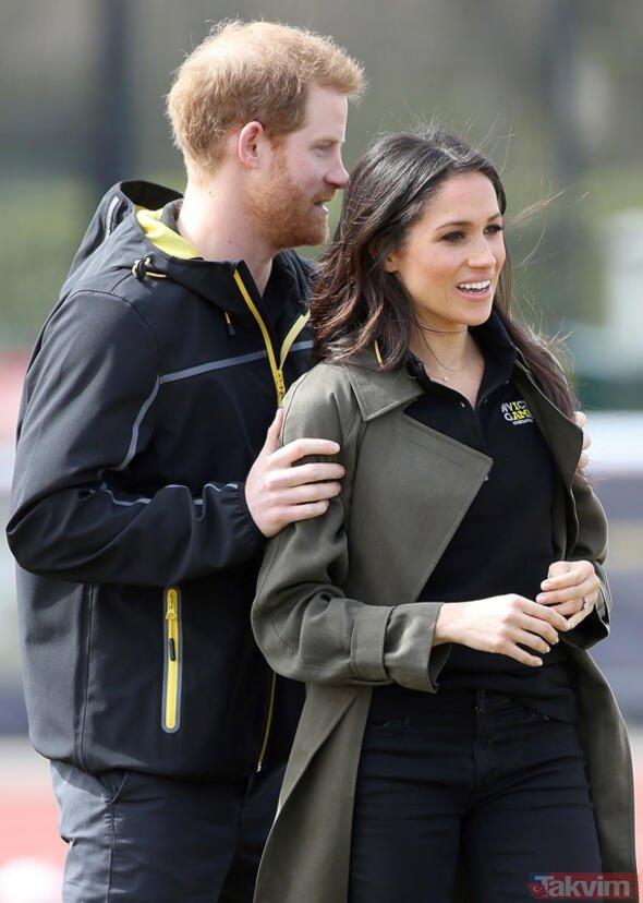 Dünyayı şoke eden iddia: Kraliyet ailesinin gelini Meghan Markle ve eşi Prens Harry...