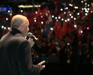 Üsküdar'da muhteşem anlar... O şarkıyı Başkan da söyledi