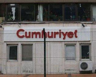 Terör örgütlerinin sesi Cumhuriyet gazetesi