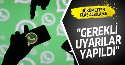 Ulaştırma ve Altyapı Bakanlığı'ndan WhatsApp yetkililerine güvenlik açığı uyarısı