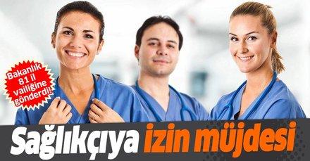 Sağlıkçıya izin çıktı: Çalışanlar yıllık izin yapabilecek