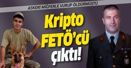 Askeri miğferle vurup öldüren astsubay Osman Hancı kripto FETÖ'cü çıktı!