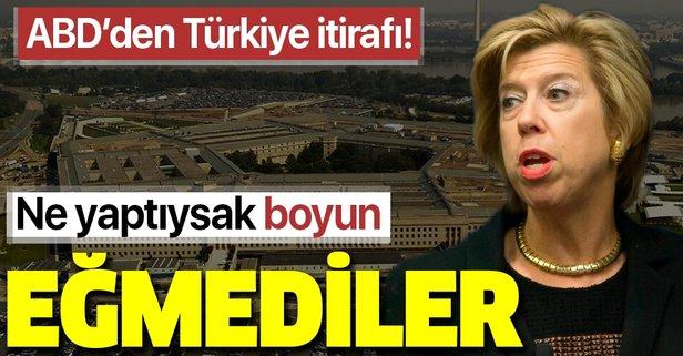 ABD'den Türkiye itirafı geldi