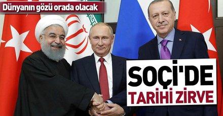 Soçi'de dördüncü Suriye zirvesi