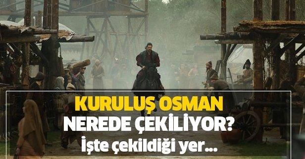 Kuruluş Osman nerede çekiliyor?