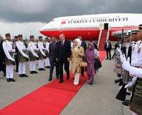 Erdoğan, Kuala Lumpur Zirvesi'ne katılmak üzere Malezya'ya geldi
