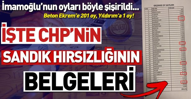 İşte İstanbul'da yapılan usulsüzlükler!