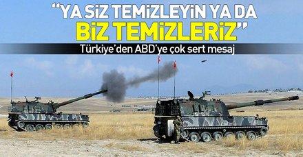 Dışişleri Bakanı Çavuşoğlundan ABDye çok sert Münbiç mesajı