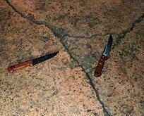Adanada şok baskın! Bıçakları fırlatıp kaçtılar