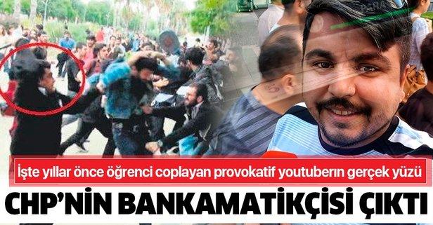 Provokatif youtuber CHP'nin bankamatikçisi çıktı