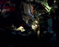 Makedonya'da feci kaza: Çok sayıda ölü var
