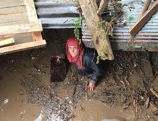Trabzon Valisi açıkladı: Araklı'daki selde 2 kişi hayatını kaybetti