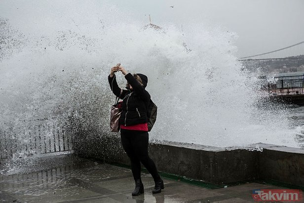 Meteoroloji'den İstanbul'a lodos uyarısı