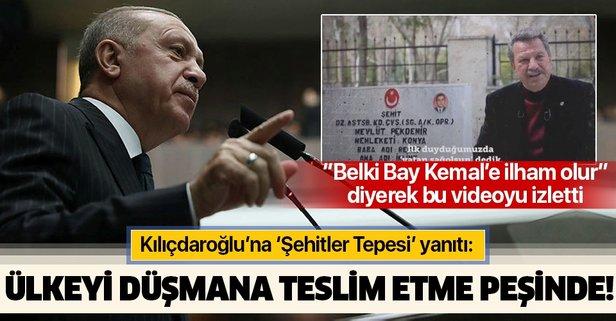 Erdoğan'dan Kılıçdaroğlu'na Şehitler Tepesi yanıtı