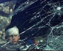 Saldırılar nedeniyle konvoydan 14 sivil hayatını kaybetti
