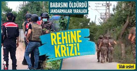 Kocaeli'de rehine krizi!
