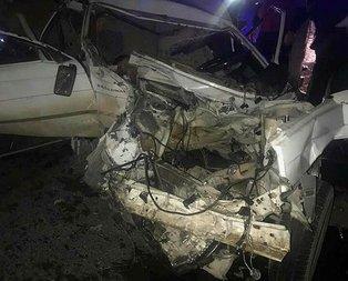Şanlıurfa'da feci kaza! Çok sayıda yaralı var