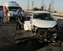 Aksaray'da korkunç kaza: 8 yaralı