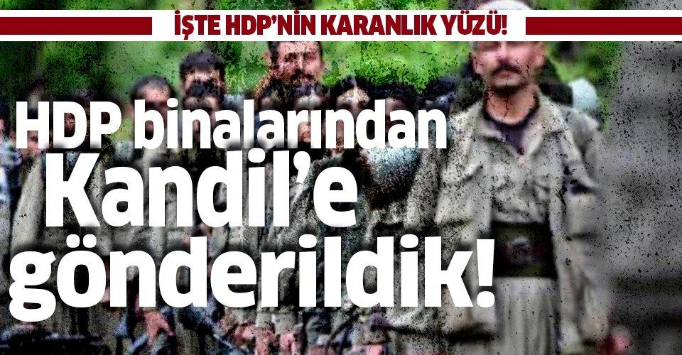 İşte HDP'nin hain terör örgütü PKK ile iş birliği: