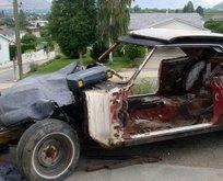 1200 TL'ye aldığı Ford Mustang'i böyle restore etti! 8 milyon liraya sattı