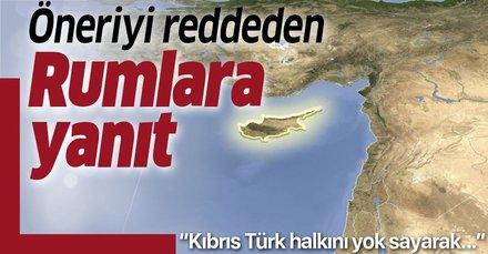 Mustafa Akıncı'dan hidrokarbon önerisini reddeden Rumlara yanıt