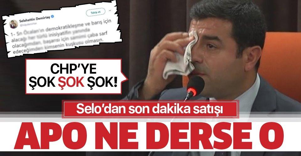 HDPKK'daki iktidar savaşında Selahattin Demirtaş'tan geri adım!