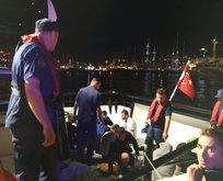 Ege denizinde can pazarı! Türk askeri böyle kurtardı
