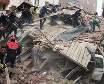 Kartal'daki binanın neden çöktüğü ortaya çıktı!