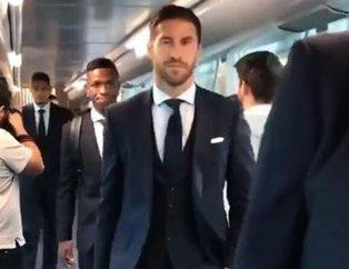 Real Madrid, Galatasaray maçı için yola çıktı! O görüntü dikkatlerden kaçmadı