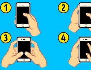 Telefonu kullanış şekliniz karakterinizi ele veriyor (Karakter analizi)