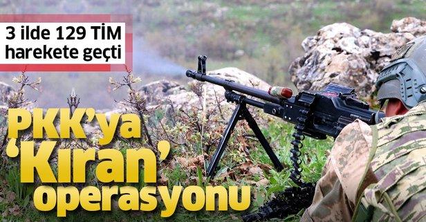 PKK'ya 'Kıran' operasyonu!